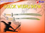 Golok Wushu Show