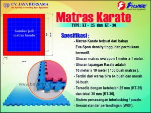 matras, matras yoga, matras spring bed, matars bayi, lapangan karate, ukuran lapangan karate, luas lapangan karate, busa karate, eva spon karate, karate mat